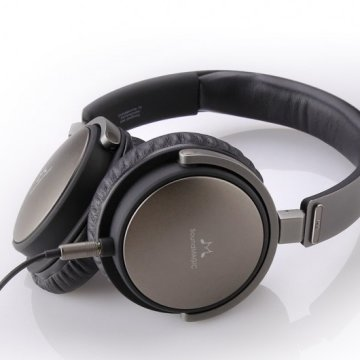 SoundMAGIC P55 On-Ear fejhallgató headset, Gunmetal