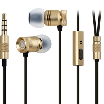 GGMM Nightingale In-Ear heads. arany