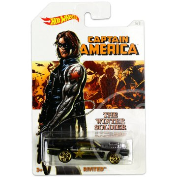 Hot Wheels: Marvel Amerika Kapitány 3: Rivited kisautó