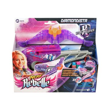NERF Rebelle: Secrets And Spies - Diamondista szivacslövő fegyver