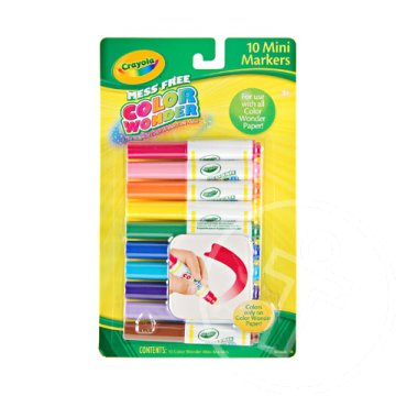 Crayola: Color Wonder színes filc 10db-os