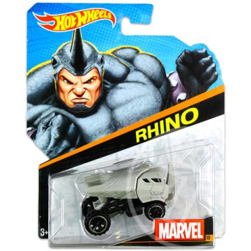 Hot Wheels Marvel karakter kisautók: Rinó kisautó