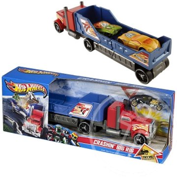 Hot Wheels Piros karambol kamion - Mattel