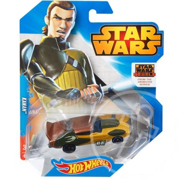 Hot Wheels - Star Wars: Kanan karakter kisautó 1/64 - Mattel