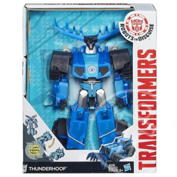 Transformers - Robots in Disguise: Thunderhoof játékfigura - Hasbro