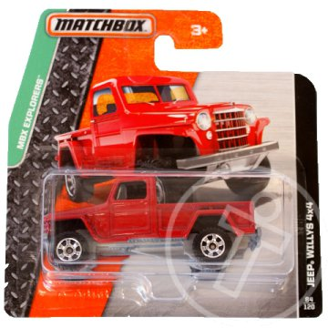 Matchbox: Jeep Willys 4x4 kisautó 1/64 - Mattel