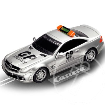 "Carrera Go!: AMG-Mercedes SL 63 ""Safety Car"" 1/43-as pályaautó"