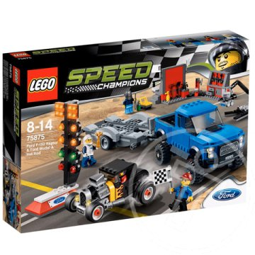 LEGO Speed Champions: Ford F-150 Raptor és Ford Model A Hot Rod (75875)