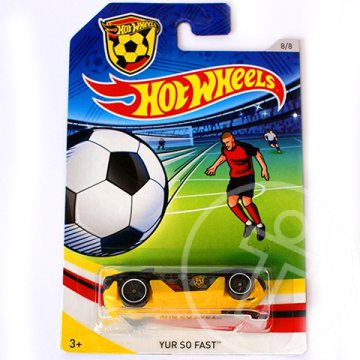 Hot Wheels UEFA EB: Yur So Fast kisautó 1/64 - Mattel