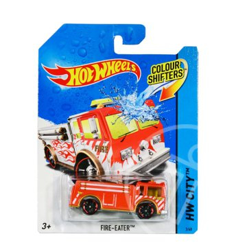 Hot Wheels City: színváltós Fire-Eater kisautó
