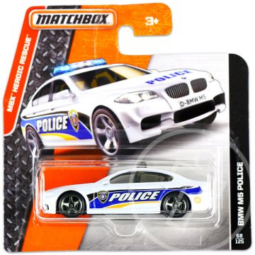 Matchbox Heroic Rescue: BMW M5 Police