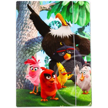 Angry Birds: A film gumis mappa - A4