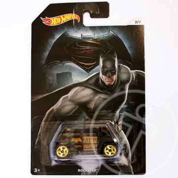 Hot Wheels Batman vs Superman: Rockster kisautó 1/64 - Mattel