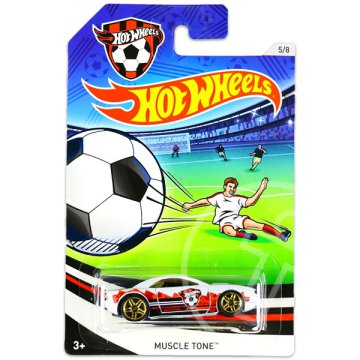 Hot Wheels: UEFA Euro Cup kisautók - Muscle Tone