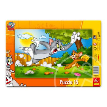 Tom és Jerry 15 db-os puzzle