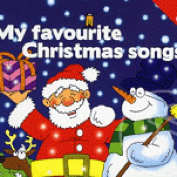 MY FAVOURITE CHRISTMAS SONGS - KÖNYV + CD