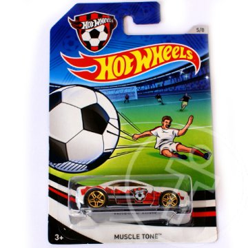 Hot Wheels UEFA EB: Muscle Tone kisautó 1/64 - Mattel