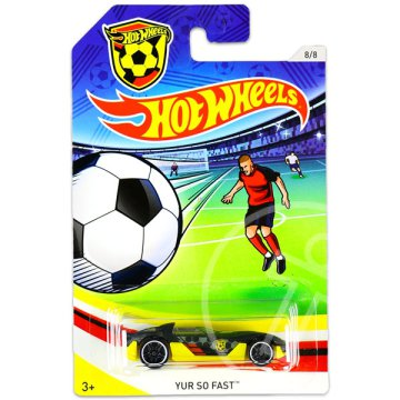 Hot Wheels: UEFA Euro Cup kisautók - Yur So Fast