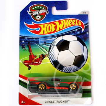 Hot Wheels UEFA EB: Circle Trucker kisautó 1/64 - Mattel