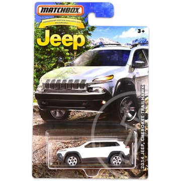 Matchbox Jeep - 2014 Jeep Grand Cherokee Trailhawk