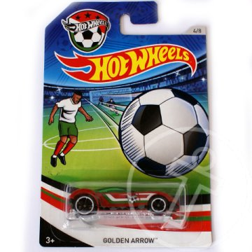 Hot Wheels UEFA EB: Golden Arrow kisautó 1/64 - Mattel