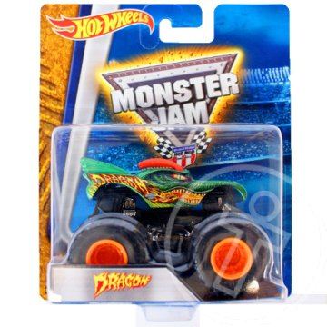 Hot Wheels Monster Jam: Dragon jármű - Mattel
