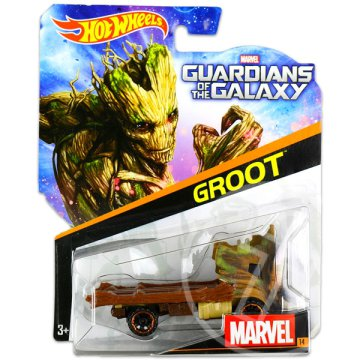 Hot Wheels Marvel karakter kisautók: A galaxis őrzői: Groot kisautó