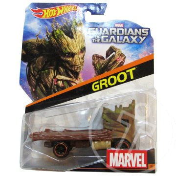 Hot Wheels Marvel: Groot 1/64 kisautó - Mattel