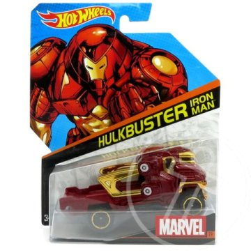 Hot Wheels Marvel: Vasember-Hulkbuster 1/64 kisautó - Mattel