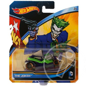 Hot Wheels DC Universe: Joker kisautó 1/64 - Mattel