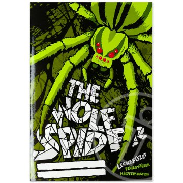 The Wolf Spider leckefüzet - A5