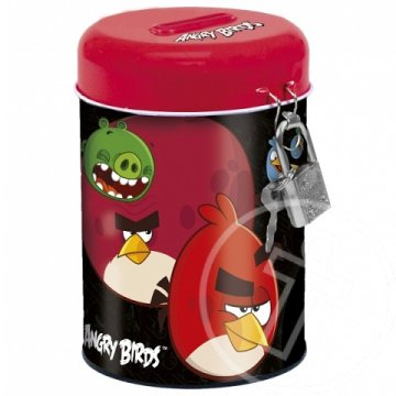Angry Birds fém persely