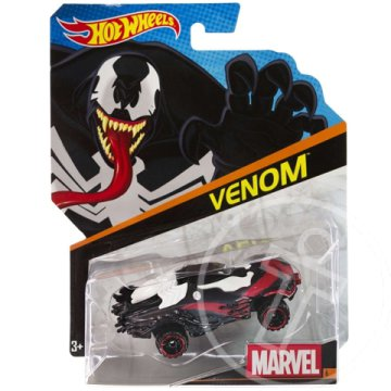 Hot Wheels Marvel: Venom 1/64 kisautó - Mattel