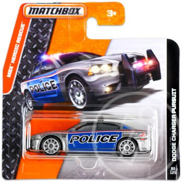 Matchbox Heroic Rescue: Dodge Charger Pursuit