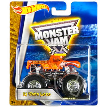 Hot Wheels: Monster Jam terepjárók - El Toro Loco, narancssárga