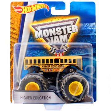Hot Wheels Monster Jam: Higher Education jármű - Mattel