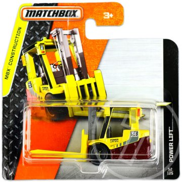 Matchbox Construction: Power Lift