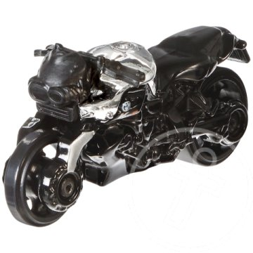 Hot Wheels BMW Series: BMW K1300R kismotor 1/64 fekete-króm - Mattel