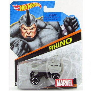 Hot Wheels Marvel: Rhino 1/64 kisautó - Mattel