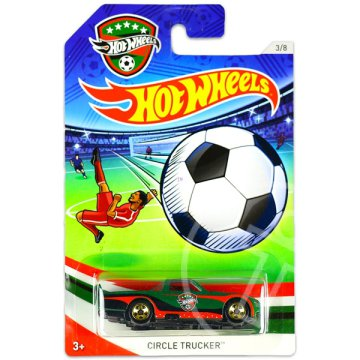 Hot Wheels: UEFA Euro Cup kisautók - Circle Trucker