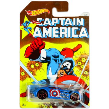 Hot Wheels: Marvel Amerika Kapitány 3: Sir Ominous kisautó
