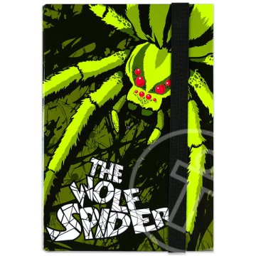The Wolf Spider füzetbox - A5