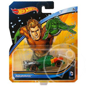Hot Wheels DC Universe: Aquaman kisautó 1/64 - Mattel