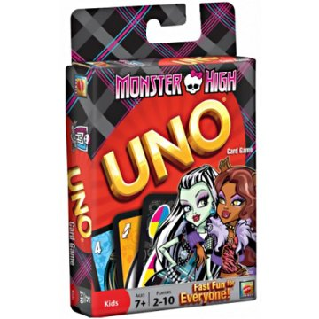 Monster High Uno kártya