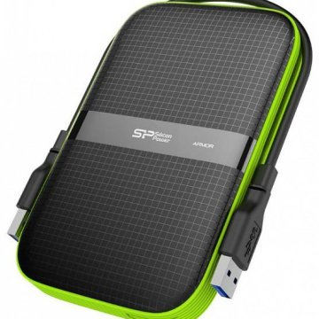 Silicon Power Armor 2TB HDD USB3.0, fekete, A60