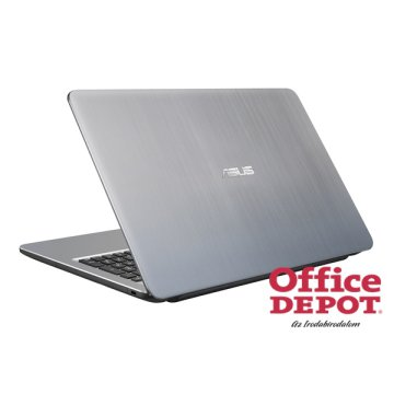 "ASUS X540LA-XX596T 15,6""/Intel Core i3-5005U/4GB/1TB/Win10/DVD író/ezüst notebook"