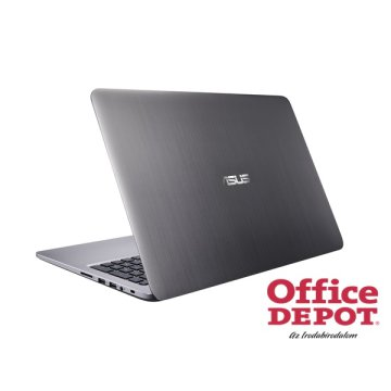 "ASUS K501UX-DM078D 15,6"" FHD/Intel Core i7-6500U/8GB/1TB/GeForce GTX 950M 4GB/szürke slim notebook"