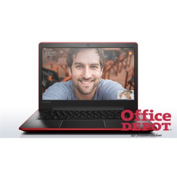 "LENOVO 510S 80SJ004PHV 13,3""FHD IPS/Intel Core i3-6100U/4GB/500GB/piros notebook"