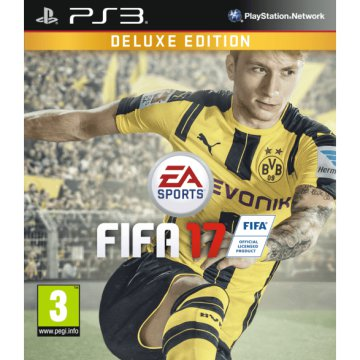 PS3 FIFA17 DELUXE