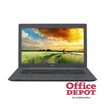 "Acer Aspire E5-773G-35BR 17,3""/Intel Core i3-6100U 2,3GHz/4GB/500GB/DVD író/fekete notebook"